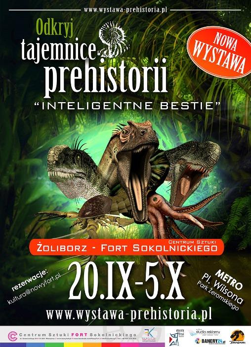 Odkryj tajemnice prehistorii - wystawa